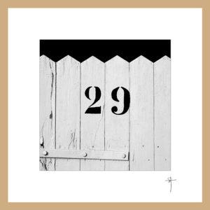"""Mini-cadre """"29"""""""