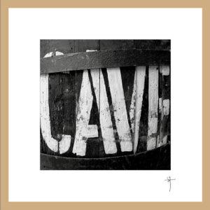"""Mini-cadre """"Cave"""""""