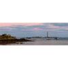 Plouguerneau : le phare de l'Île Vierge en rose