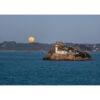 Carantec : l'Île Louët et la Pleine Lune