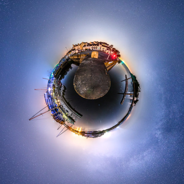 Douarnenez : Tréboul et Douarn en version petite planète