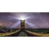 Le Conquet : Phare de Kermorvan face aux étoiles
