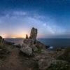 Port Manec'h : Le Doigt de Dieu sous la Voie lactée