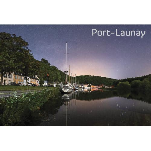 """Magnet """"Port Launay de nuit"""""""