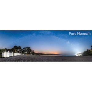 """Magnet """"Plage de Port Manec'h de nuit"""""""