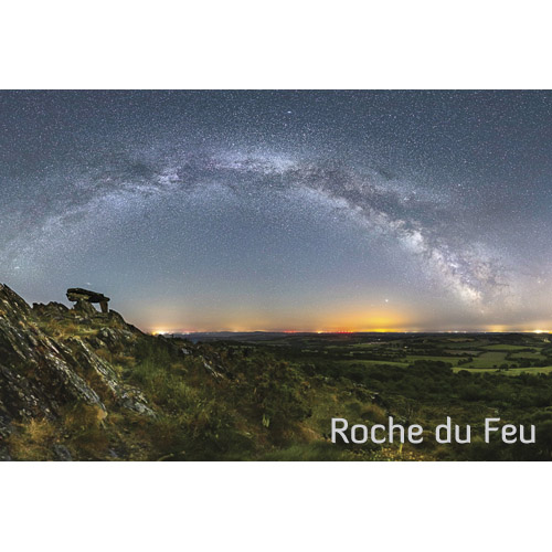 """Magnet """"Roche du Feu sous la Voie lactée"""""""