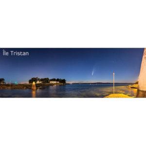 """Magnet """"Comète NEOWISE et Île Tristan"""""""