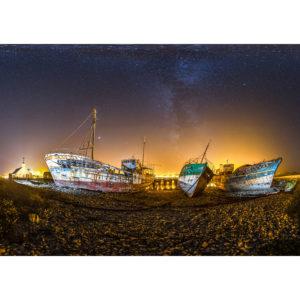 Camaret-sur-Mer : les épaves du port